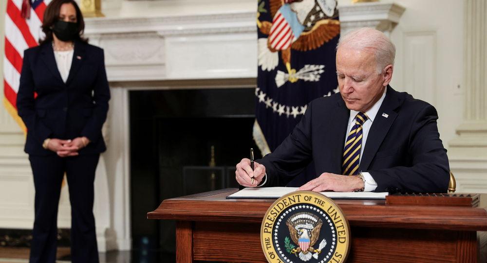 喬·拜登總統和美國副總統卡瑪拉·哈里斯