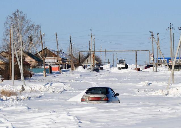 俄車里雅賓斯克市中小學生因嚴寒連續第三天停課