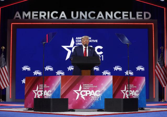 特朗普稱可能會做出再次競選美國總統的決定