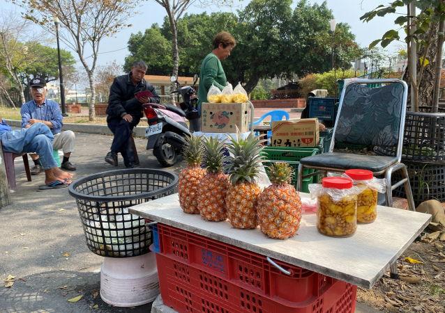 中國大陸網友科普廣東一縣年產菠蘿70萬噸 台名嘴驚訝:你們自己就有鳳梨啊!
