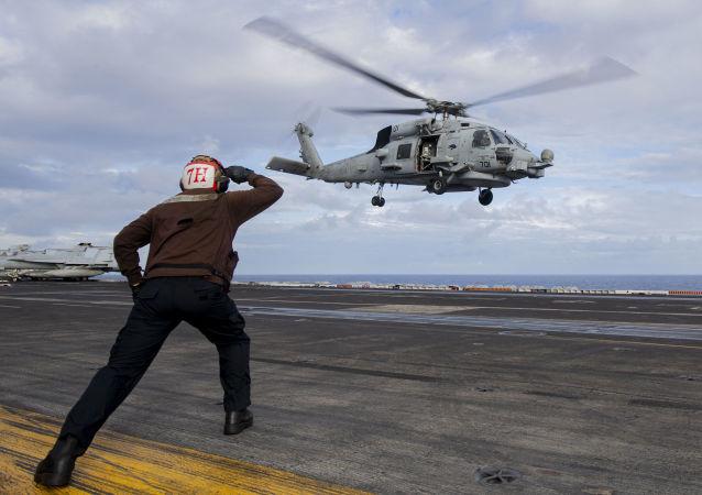 美國海軍在南中國海