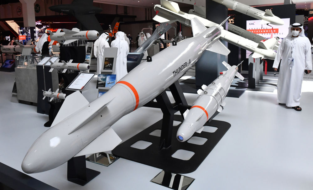 阿布達比IDEX-2021防務技術展。