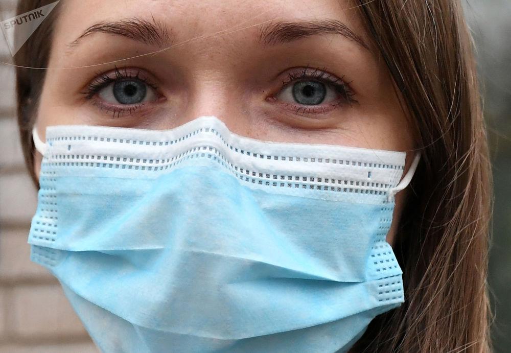 俄羅斯克拉斯諾亞爾斯克市臨時傳染性新冠病房護士長。