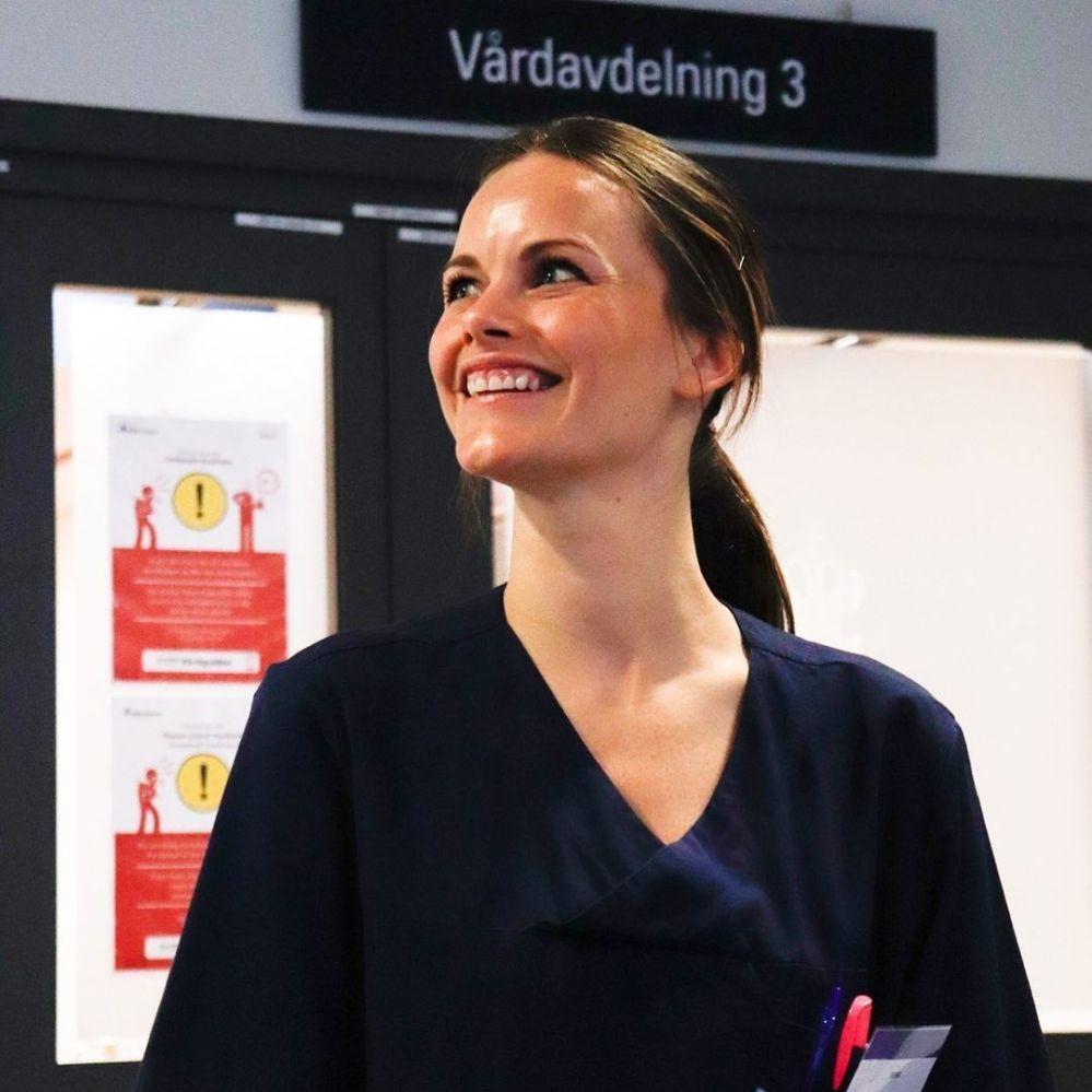 瑞典索菲亞公主圓滿結束在索菲亞梅特醫院為期三天的速成醫護培訓課。