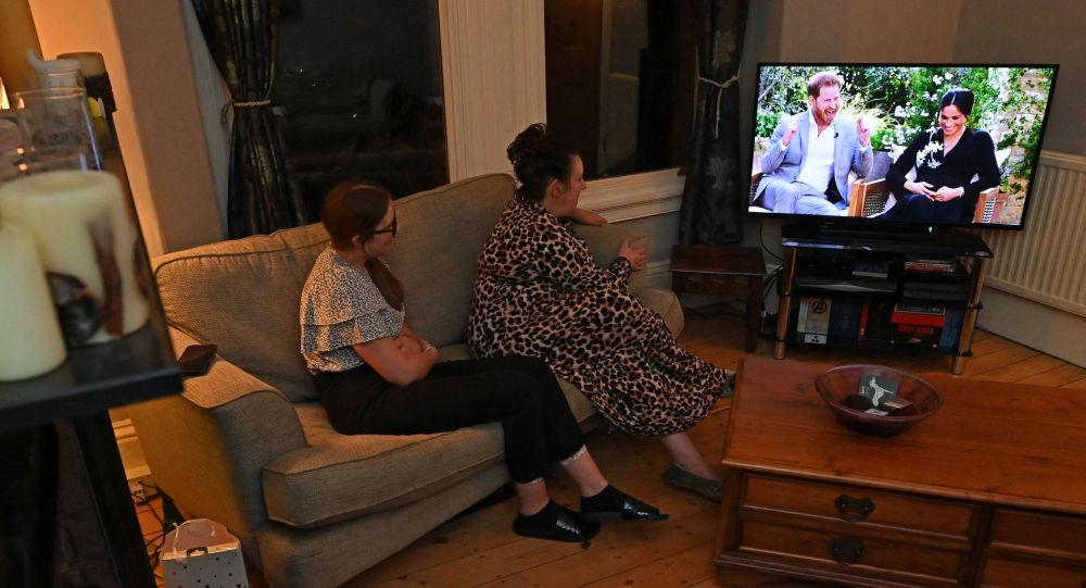 美國電視主持人奧普拉·溫弗里對哈里王子及其妻子梅根·馬克爾的採訪