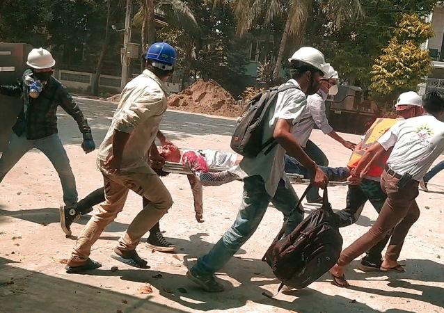 人權組織:緬甸衝突死亡人數已超550人