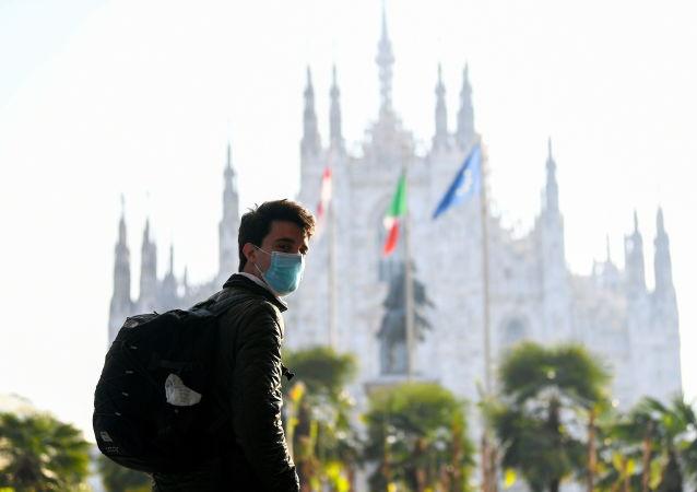 意大利首次舉行新冠死難者國家紀念日