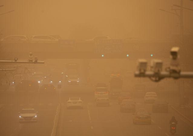 中國六省區有揚沙或浮塵 內蒙古新疆局地有沙塵暴
