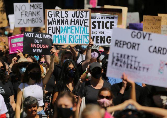 澳大利亞反性侵示威