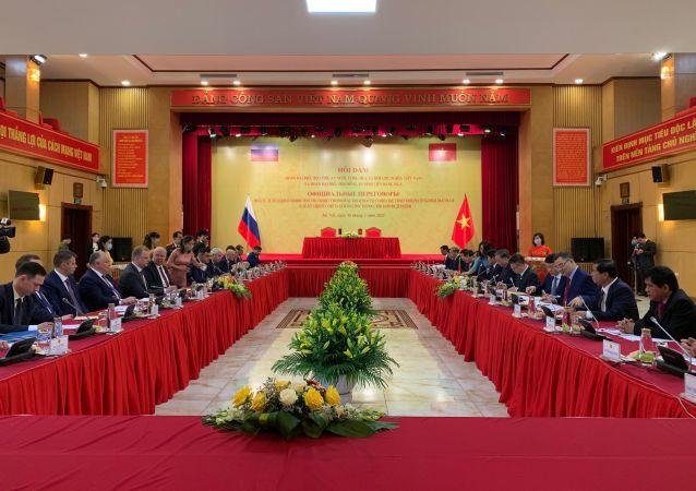 俄聯邦安全會議:俄越兩國希望加強反恐領域合作