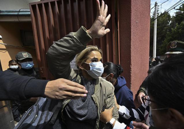 玻利維亞前臨時總統珍妮娜·阿涅斯