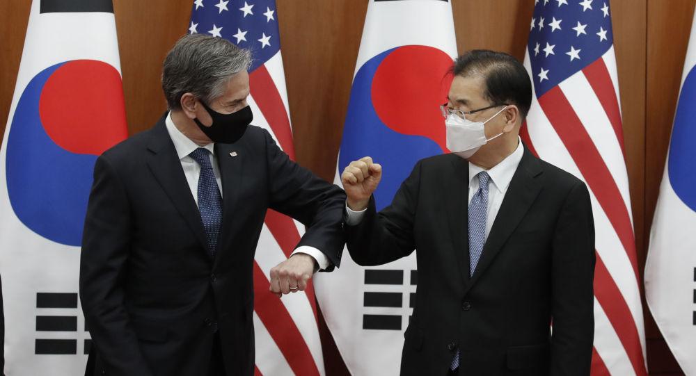 韓國不支持美國及其盟友的反華論調