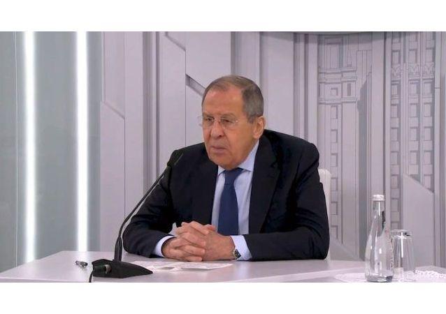 拉夫羅夫呼籲中國要加強與西方的技術獨立性
