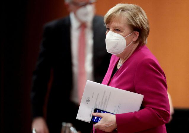 德國總理反對取消新冠疫苗知識產權保護