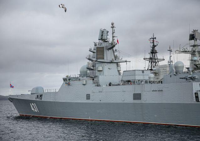 「卡薩托諾夫海軍上將」號護衛艦