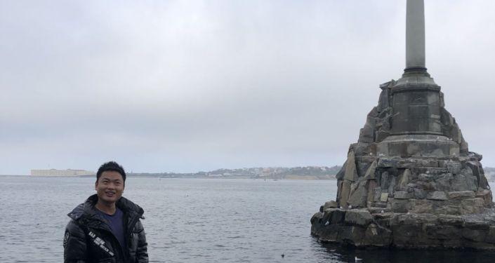 克里米亞、塞港沈船紀念碑