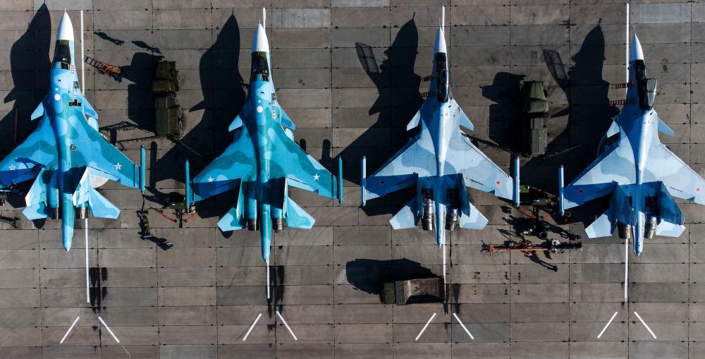 南部軍區「航空飛鏢-2021」比賽現場