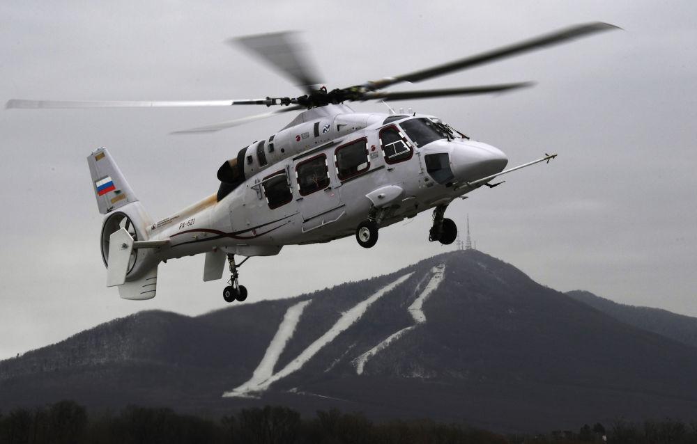 試飛卡-62直升機