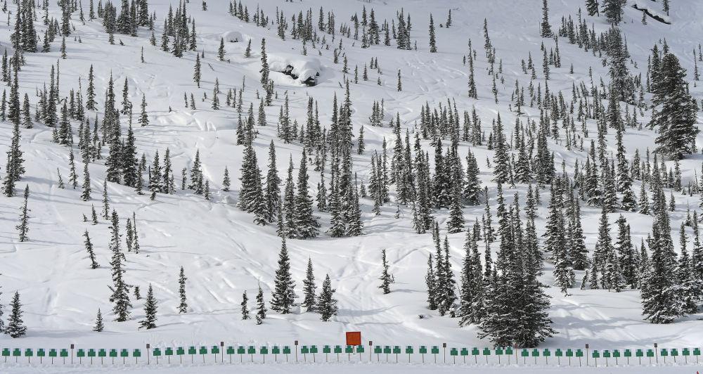「薩彥斯基進行曲」俄軍全軍滑雪登山比賽在克拉斯諾亞爾斯克邊疆區舉行