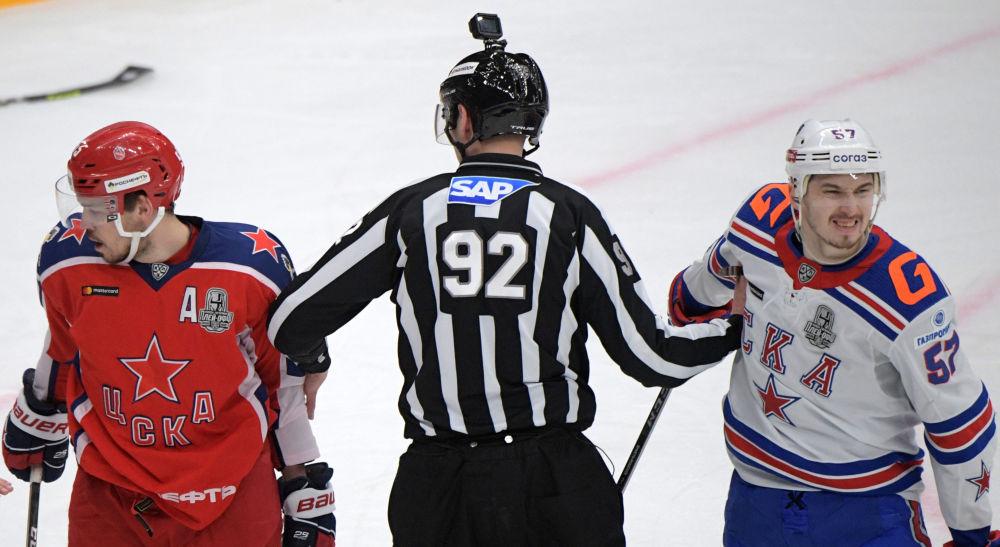 大陸冰球聯賽,中央陸軍對陣聖彼得堡SKA
