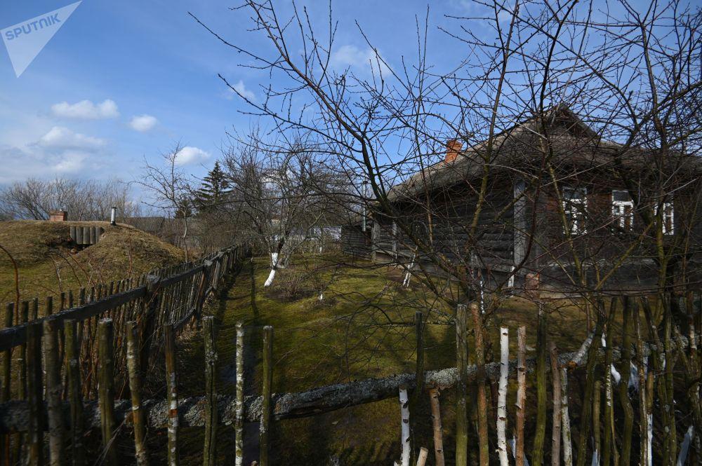 斯摩稜斯克州克盧希諾村加加林幼兒時期故居博物館。