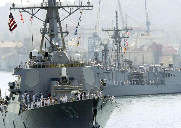 美國海軍「約翰·保羅·瓊斯」號驅逐艦