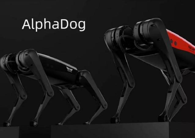 「AlphaDog」機器人