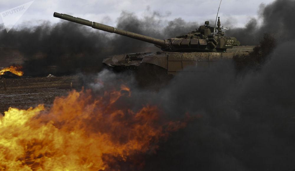 斯維爾德洛夫州「國際軍事比賽」比賽。