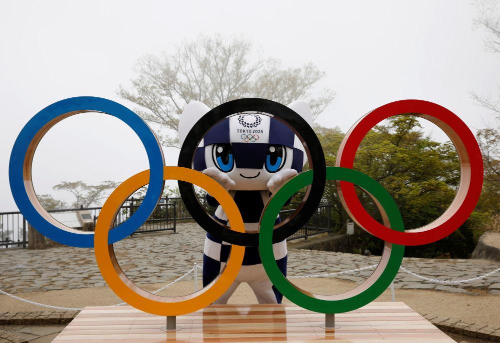 2020年東京奧運會吉祥物Miraitowa(未來,永恆)。