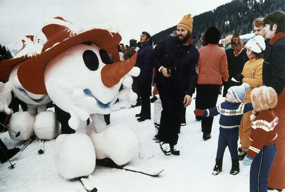 1976年奧地利因斯布魯克冬奧會。