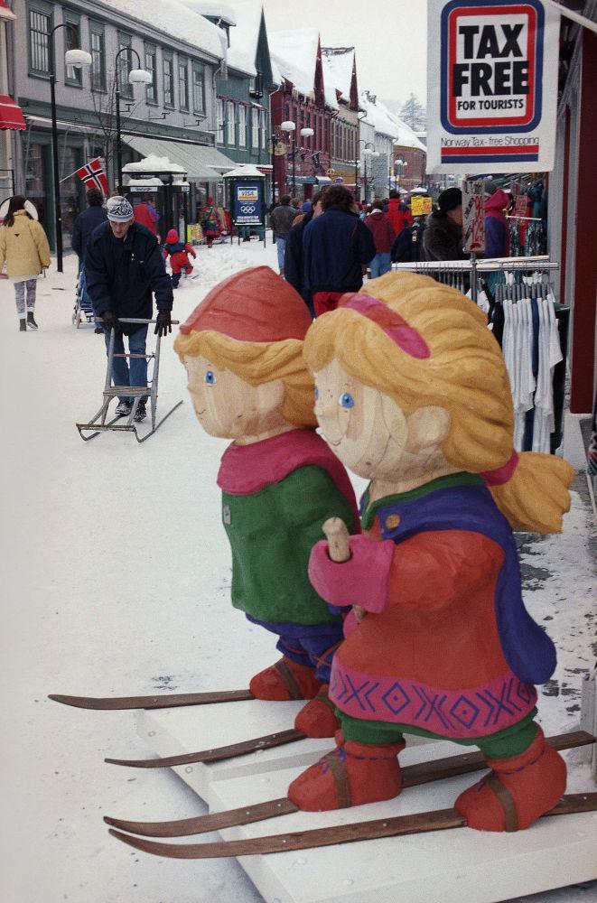 1994年挪威利勒哈默爾冬奧會吉祥物。