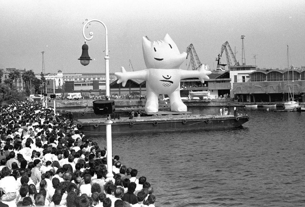 1992年西班牙巴塞羅那奧運會吉祥物科比。