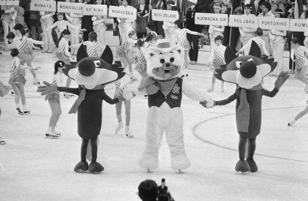 1984年南斯拉夫薩拉熱窩冬奧會吉祥物烏科狼。