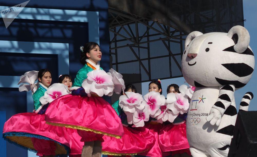 2018年韓國平昌冬奧會吉祥物。