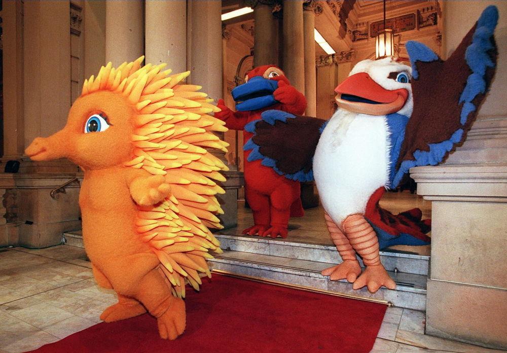 2000年悉尼奧運會吉祥物。