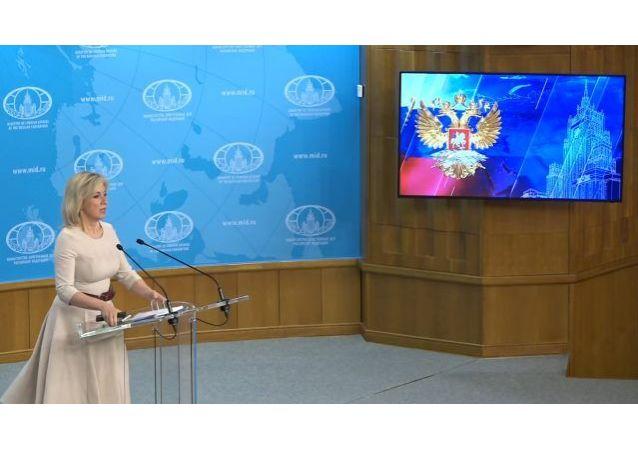 俄羅斯外交部評論了美國對俄羅斯的新一輪制裁
