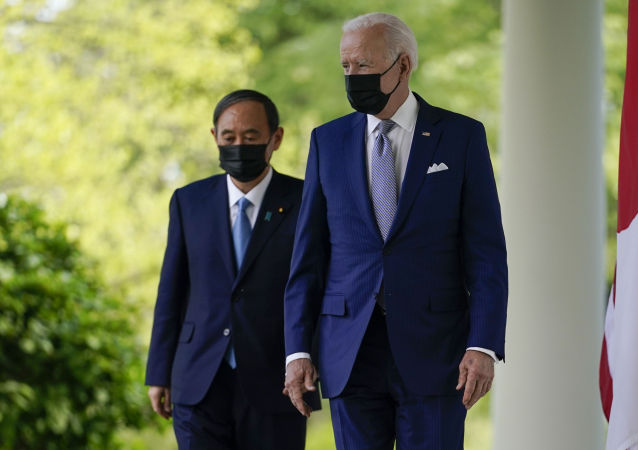 拜登:已同日本首相商定就中國和朝鮮問題展開合作