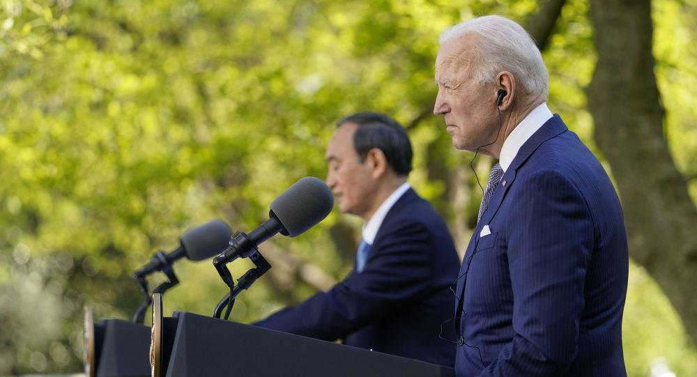 日本首相:日美兩國反對改變南海現狀的企圖