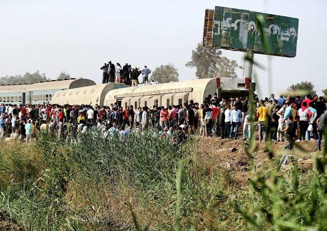 埃及列車脫軌事故