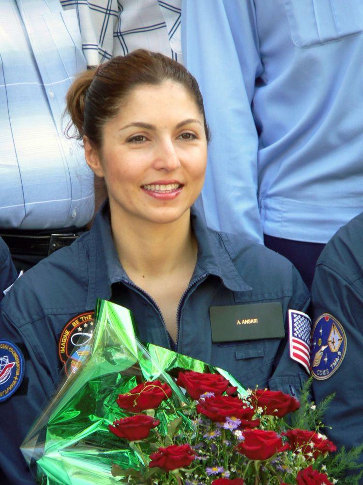 首位太空女遊客阿努什·安薩里。