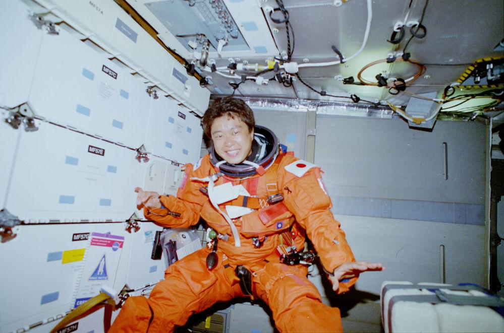日本首位女航天員向井千秋。