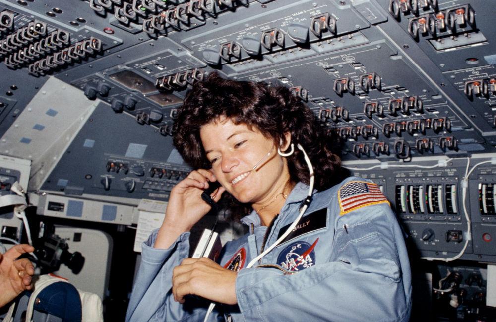 美國首位進入太空的女航天員薩莉·賴德。