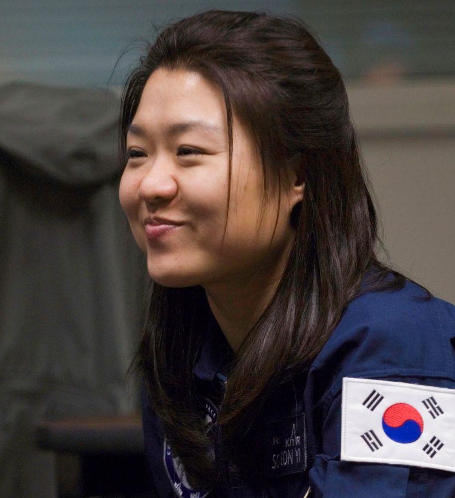 韓國首位女航天員李素妍。