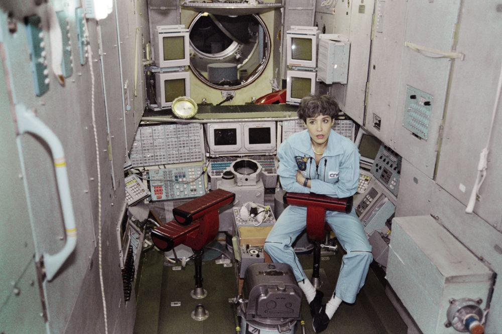 法國首位女航天員克勞迪·艾涅爾。