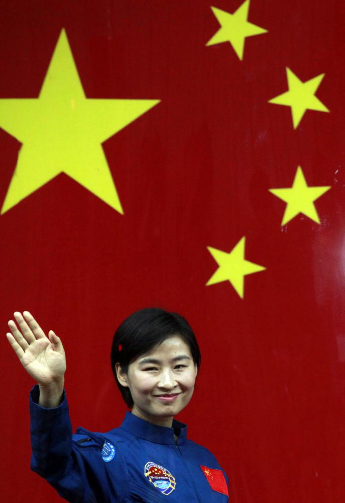 中國首位女航天員劉洋。