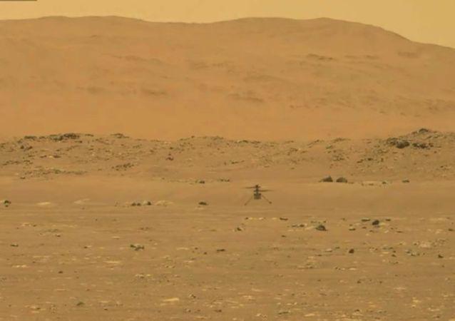 航空航天局:「機智」號無人直升機在火星成功進行首飛