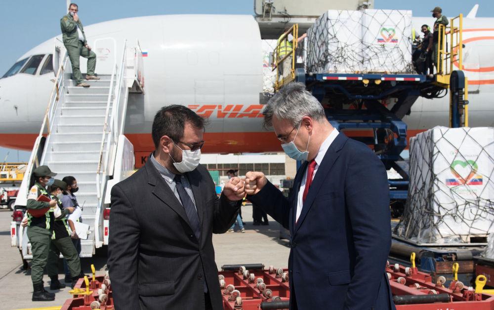 俄羅斯87萬瓶胰島素運抵委內瑞拉。