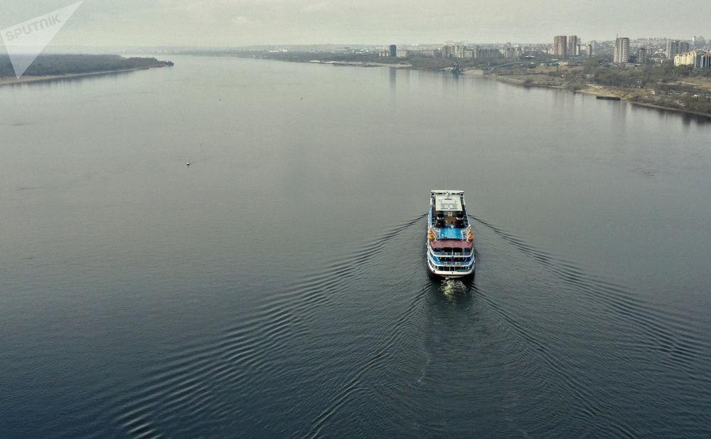 俄羅斯河運旅遊季開幕。