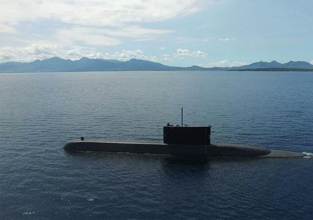 印尼海軍的一艘潛艇在演習期間失聯