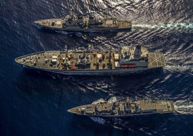 專家:為向美國表忠 歐盟將擴大在印太地區的海軍存在